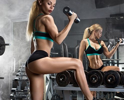womens weight training